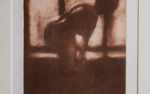 Fine art Gallery near Me with affordable modern contemporary Solar Etching by Philip Beadle Christchurch Art For Sale 8