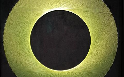 Green Eclipse Bruce Stilwell Windsor Gallery - Fine art Christchurch