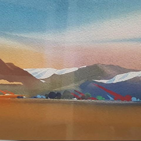 Water Colour by Ivan Button At Windsor Gallery