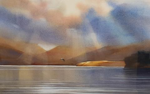 Takamatua Bay by Svetlana Orinko - Windsor Gallery Christchurch
