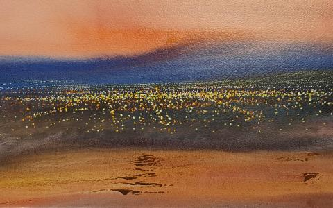 Christchurch Lights by Svetlana Orinko - Christchurch Windsor Gallery Art