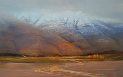 Glenorchy I by Svetlana Orinko - Windsor Gallery Art Christchurch