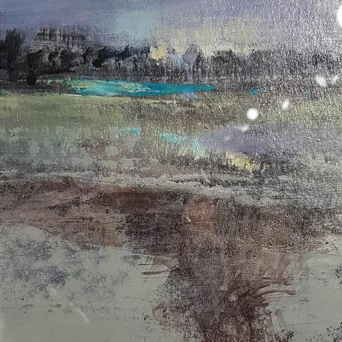 Misty Morning by Renata Przynoga - Art in christchurch Windsor Gallery