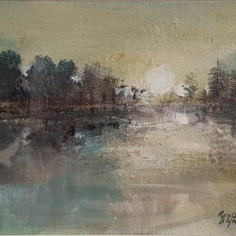 Morning Light by Renata Przynoga - Art in christchurch Windsor Gallery