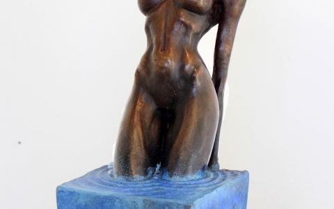 Emanate2_Anneke Bester  Affordable Original Contemporary Modern Sculpture