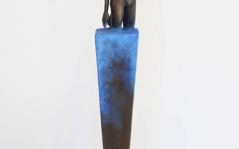 Ponder_F_Anneke Bester  Affordable Original Contemporary Modern Sculpture