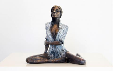 Delta_Anneke Bester  Affordable Original Contemporary Modern Sculpture