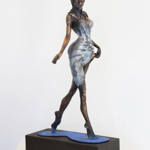 Water Nymph_Anneke Bester  Affordable Original Contemporary Modern Sculpture