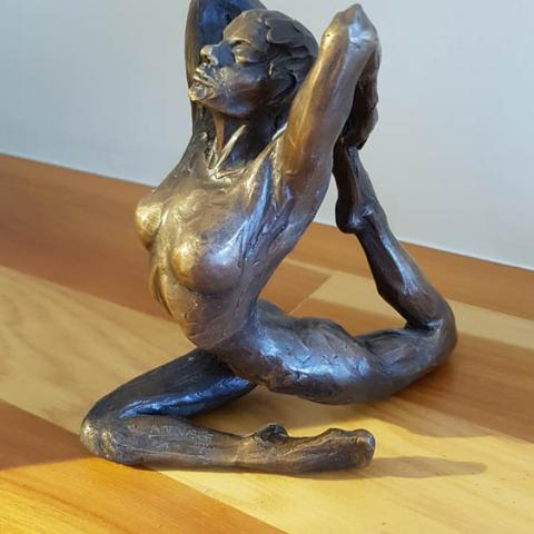 Fine art Gallery near Me with affordable modern contemporary original Bronze Sculpture by Anneke Bester 3