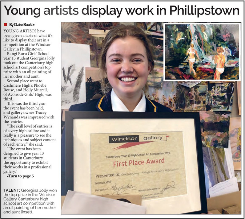 Young artists display work in Philliptown